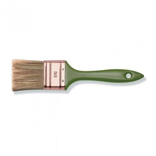 Кисть флейц., 70 мм, толщ.6, ПЭТ-кит.щет, пласт.лак.ручка, арт.81467002