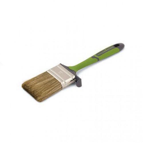 Кисть флейц., 80 мм, толщ. 9, ПЭТ-кит.щет., 2-комп.ручка, арт.81528002