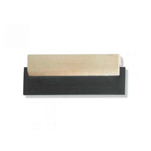 Шпатель для швов резиновый,180 мм, дерев.ручка, арт.94081812
