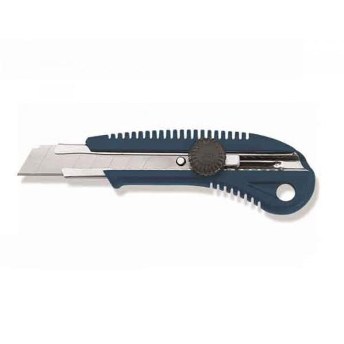 Нож с отлам.лезв, 18 мм пластм., крепление подвижной части, арт.95650037