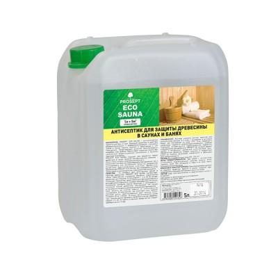 Просепт ECO SAUNA (5л)- антисептик для бань и саун. Готовый состав.
