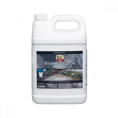Очиститель H&С CONCRETE ETCHING SOLUTION/Состав для удаления высолов, понижения уровня pH и травления бетона (3,78 л)