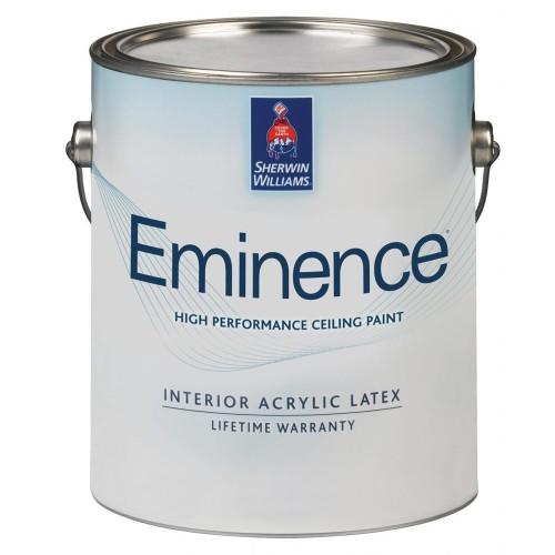 Краска SW EMINENS Ceilling White/Интерьерная Матовая для потолков на винил-акриловой основа износостойкая (Белая)/ 3,8л./A27W01815-16