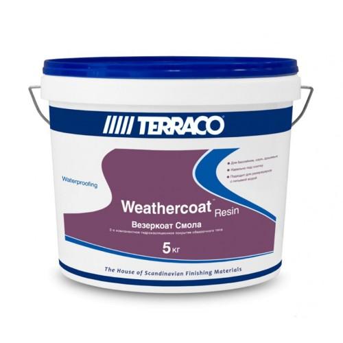 Гидроизоляция ВЕЗЕРКОАТ смола, компонент гидроизоляционной системы,  5 кг (Террако)