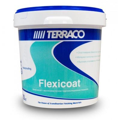 Гидроизоляция ФЛЕКСИКОАТ готовая к применению, 20 кг (Террако)