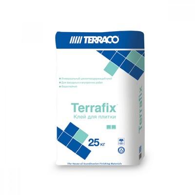 Клей/Террако - Террафикс белый, (25кг) водостойкая клеевая смесь для плитки код 120523