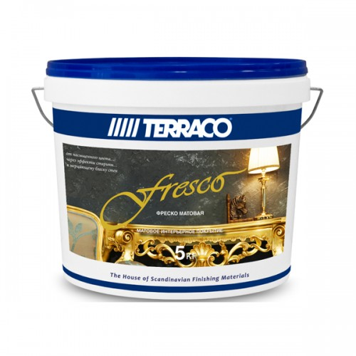 Декор.покрытие/Террако - Фреско, (5 кг) оттеночное покрытие