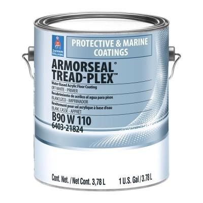 Краска SW ArmorSeal TreadPlexWBAcrylicFloorCoating/Универсальня Акриловая для пола, для нар. и внут. работ, полумат, ЭкстраБелая (3,78 л)