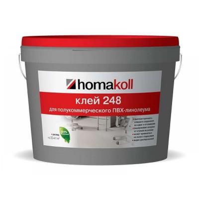 Клей Хомакол 248 д/я ком.линолеума 10 л (14 кг)