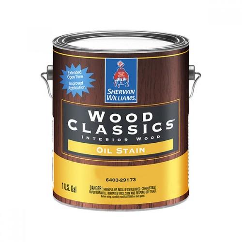Пропитка SW WoodClassics InteriorOilStainPecan/на масляной основе для внут. работ по дереву, пекан (3,78 л)