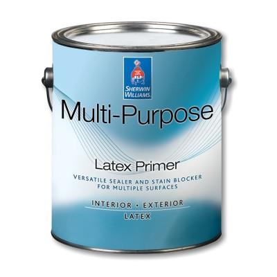 Грунтовка SW MULTI-PURPOSE ZERO VOC Int/ExLatexPrimer/Универсальная Латексная Матовая на водной основе, Белый (0,95 л)