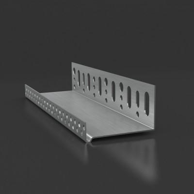 Профиль аллюминивый цокольный 50мм L=2,5