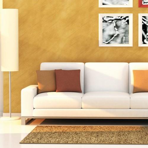 Декоративное покрытие Elegante Gold, готовая база c блеском золотых частиц и перламутровыми переливами, 2,5л, MAG00095