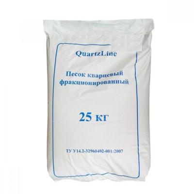 Песок кварцевый  (фракция 0,4-0,8мм) 25 кг