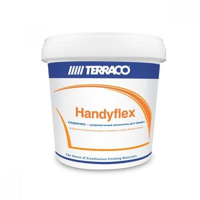 Шпатлевка/Террако - Хэндифлекс (5 кг) эластичный акриловый заполнитель для трещин арт: код 120573