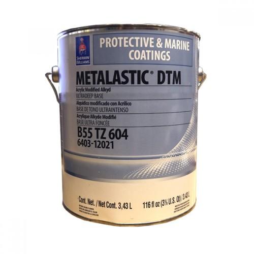 Эмаль SW METALASTIC DTM AcrylicModifiedAlkydEname UltraDeep/Акриловая модифицированная антикорозийная (Ул.Глуб.)/ 3,8л./B55TZ0604-16