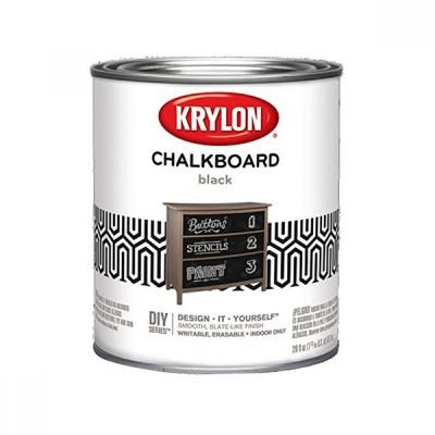 Краска  CHALKBOARD PAINT/с эффектом грифельнолй доски, 0,95л (KRYLON)