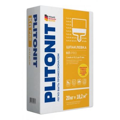 Финишная шпаклевка на полимерной основе для стен и потолков ПЛИТОНИТ КПpro- 20 кг.  (Плитонит)