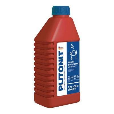 PLITONIT АнтиМороз -0,9 Противоморозная добавка для цементно-песчаных растворов, 0,9 л.