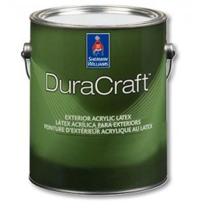 Краска SW DURACRAFT ExteriorAcr Flat ExtraWhite/Экстерьерная акриловая матовая краска (Экстра Белая)/ 3,78 л,/С01W00251-16