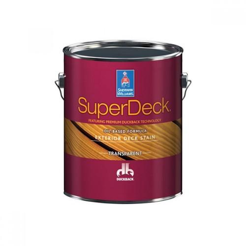Масло SW SuperDeck Oil-Based Semi-Transp.Stain/Фасадное полупрозрачное масло на основе натурального соевого алкидного полимера (3,78 л)