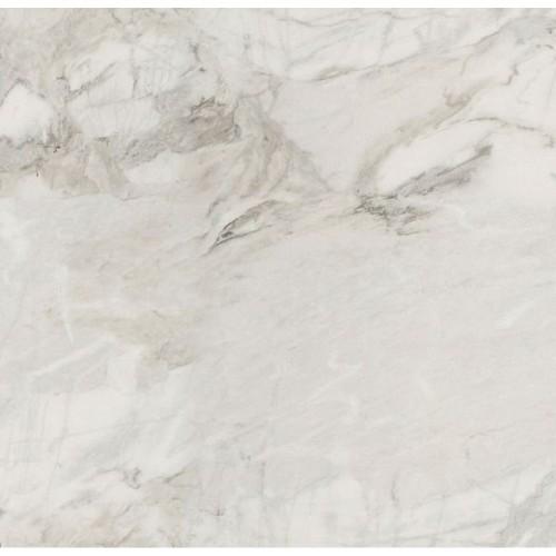 Фальш-панель ДСП 2420*600*6 Мрамор Каррара РЕ/PE