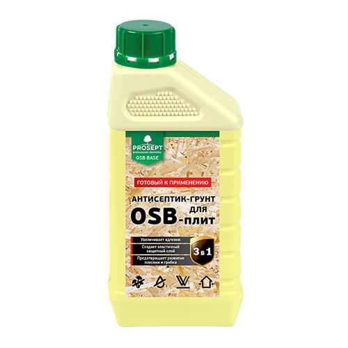 Антисептик ПРОСЕПТ OSB BASE (1л) - грунт для плит OSB, готовый состав 1л