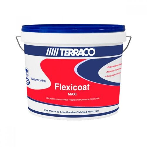 Гидроизоляция ФЛЕКСИКОАТ МАКСИ готовая к применению, 12 кг (Террако)