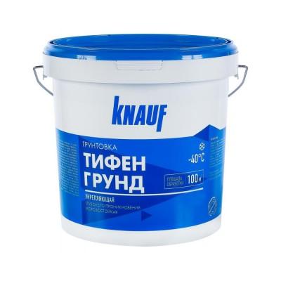 Грунтовка ТИФЕНГРУНД F 5 кг  готовая к применению, быстросохнущая, паропроницаемая на основе полимерной дисперсии (Knauf)
