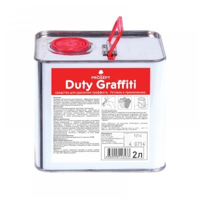 Просепт Duty Graffiti  средство для удаления граффити, маркера, краски. Готовое к применения, 0,4 л