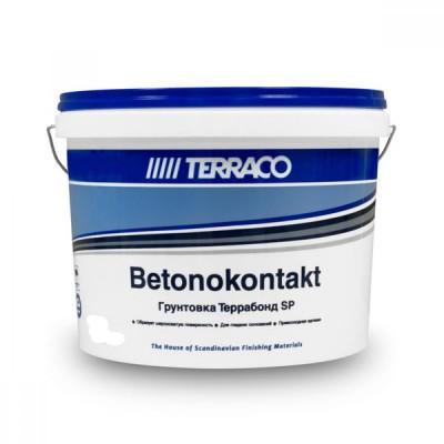 Грунтовка-бетонконтакт ТЕРРАБОНД SP 12 кг, для обработки гладкого бетона (ТЕРРАКО)
