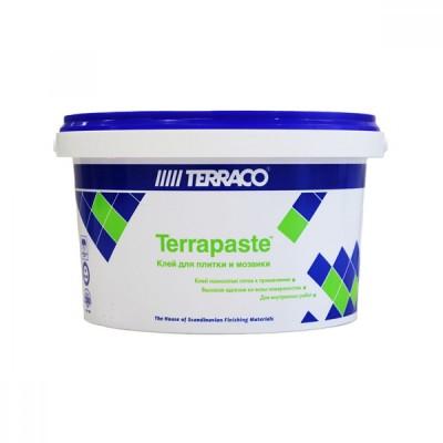 Клей/Террако - Террапаст универсальный клеящий состав для кафельной плитки, мозаики, гранита, мрамора для внутренних работ, 3,5 кг