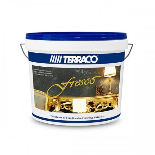 Декор.покрытие/Террако - Фреско Перламутр, (1 кг) оттеночное покрытие с эффектом перламутра