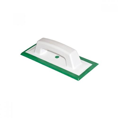 Шпатель резиновый  зеленый для работы с эпоксидной затиркой Art.104G