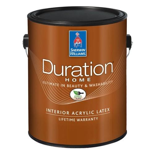 Краска SW DURATION HomeInteriorMatte ExtraWhite/Интерьерная Латексная Матовая на водной основе тиксотропная (Экстра Белая)/ 3,78л./A96W001251-16