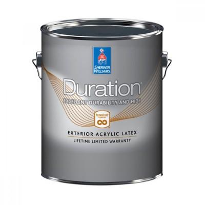 Краска SW DURATION ExteriorLatexFlat ExtraWhite/Экстерьерная Латексная Матовая на водной основе (Экстра Белая)/ 3,78 л,/К32W00151-16